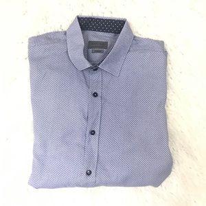 Zara man Button down shirt size xl slim fit
